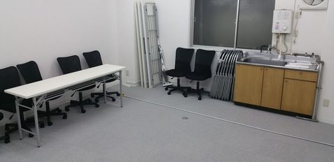 【Viveフルスケール可】VR開発・体験におすすめ貸し会議室  渋谷編 「中貸会議室B」 (有効範囲 4.1m×3.1m)
