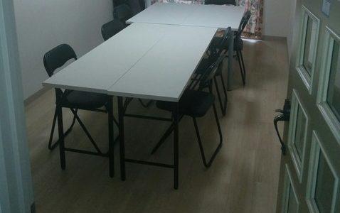 VR開発・体験におすすめ貸し会議室  新宿編 その2「SUE'S ROOM」 (有効範囲 3.7m×2.4m)